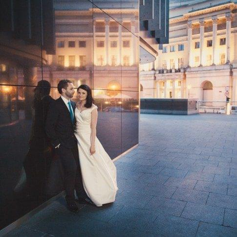 Zdjęcia ślubne w stolicy